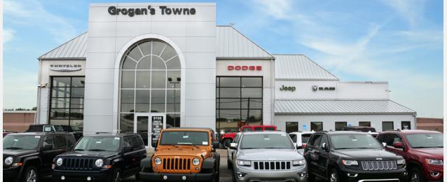 Grogans Towne Chrysler Jeep Dodge In Toledo OH Auto - Chrysler shop