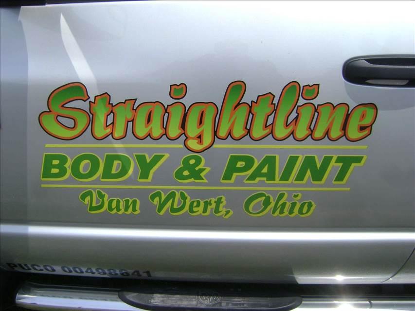 Straightline Body Paint Inc In Van Wert Oh 45891