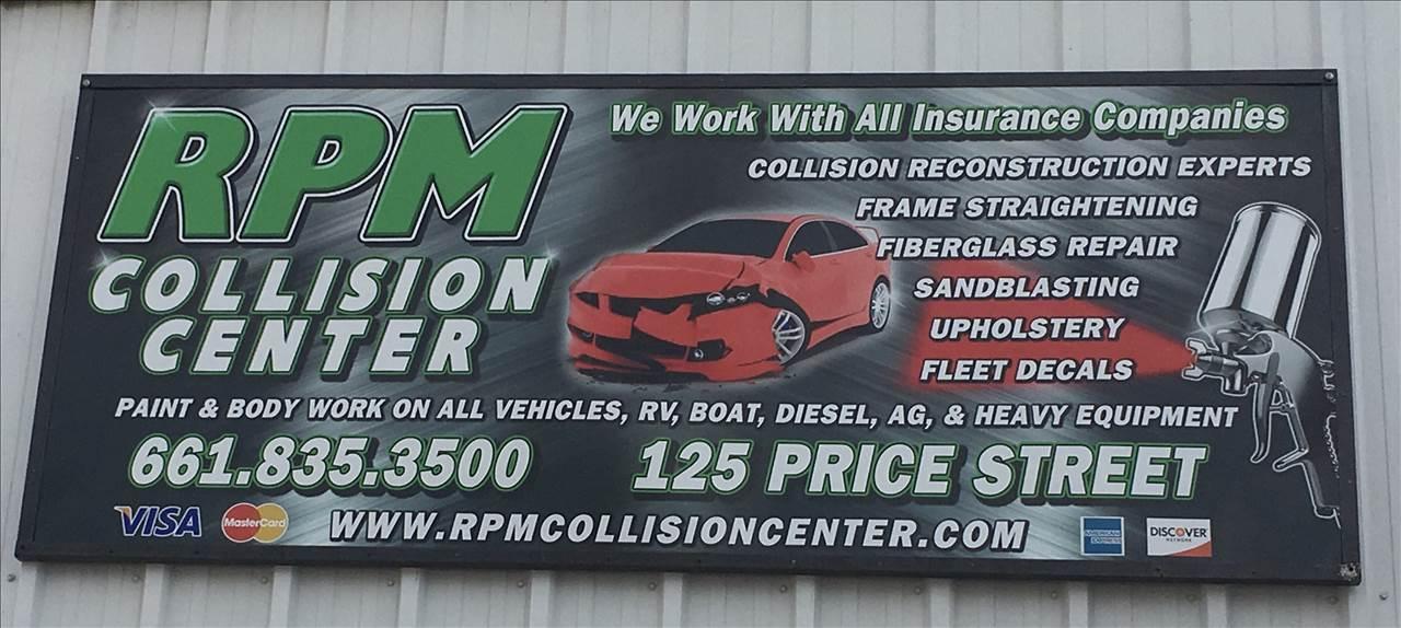 Rpm Collision Center In Bakersfield Ca 93307 Auto Body