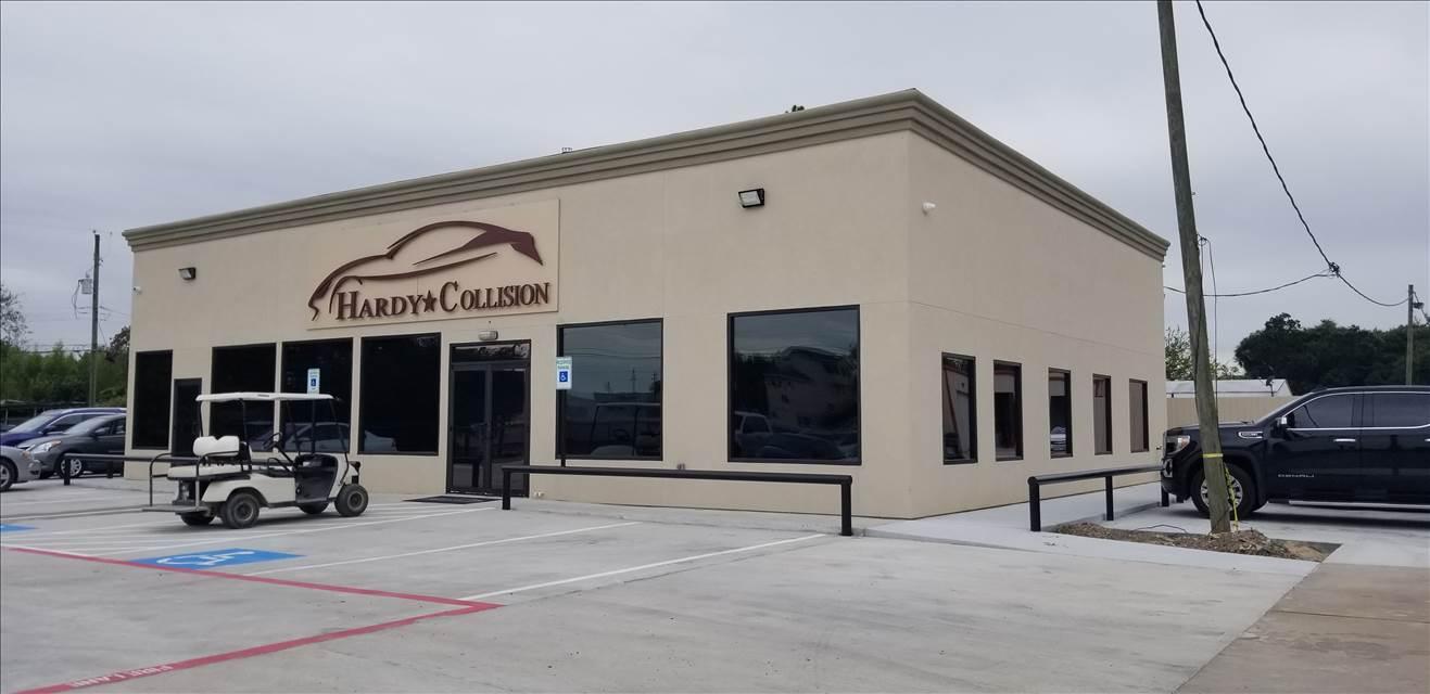 Hardy Collision Center In Houston Tx 77060 Auto Body Shops