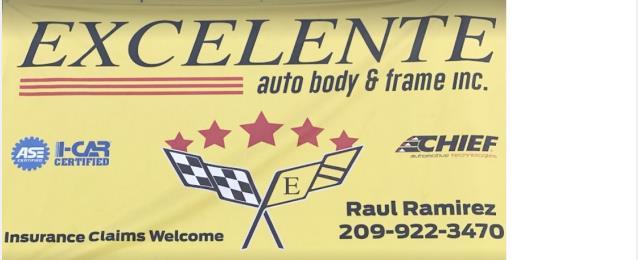 Excelente Auto Body & Frame Inc. in Stockton, CA, 95205 | Auto Body ...