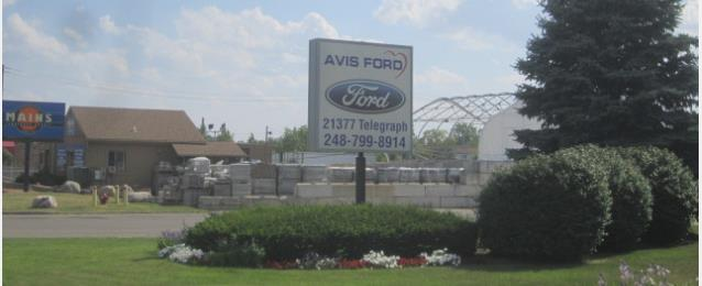 Avis Ford Body Shop In Southfield Mi 48034 Auto Body Shops