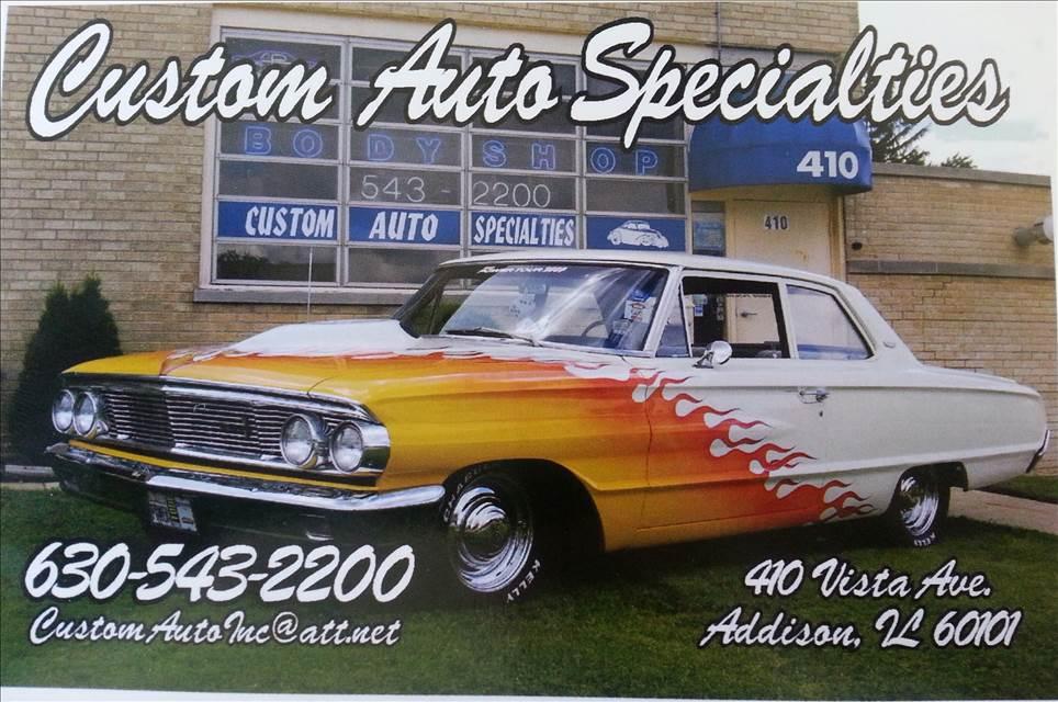 Custom Auto Specialties in Addison, IL, 60101 | Auto Body Shops