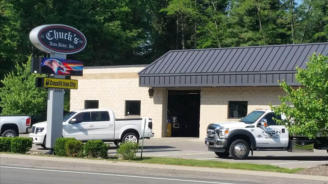 Chucks Auto Body >> Chucks Auto Body Inc In Pittsburgh Pa 15237 Auto Body