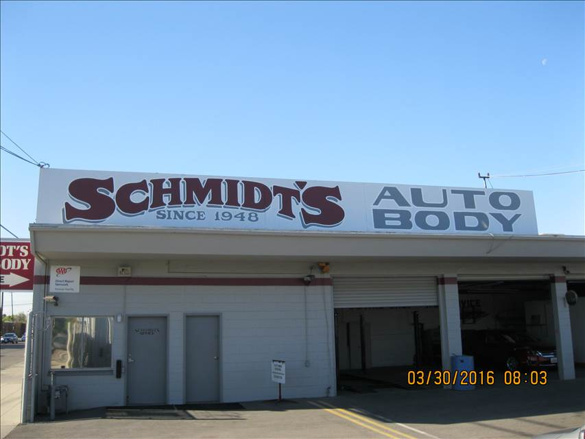 Schmidt S Auto Body Shop In Fresno Ca 93703 Auto Body Shops