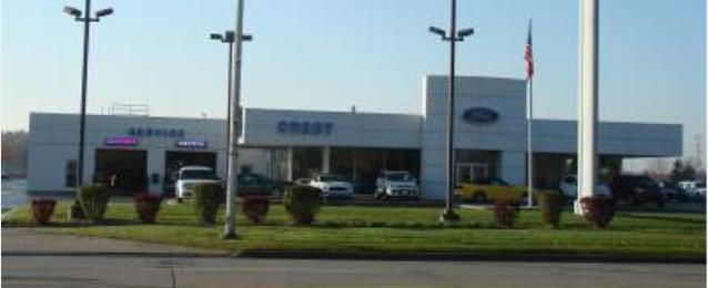 Crest Ford Inc In Flat Rock Mi 48134 Auto Body Shops