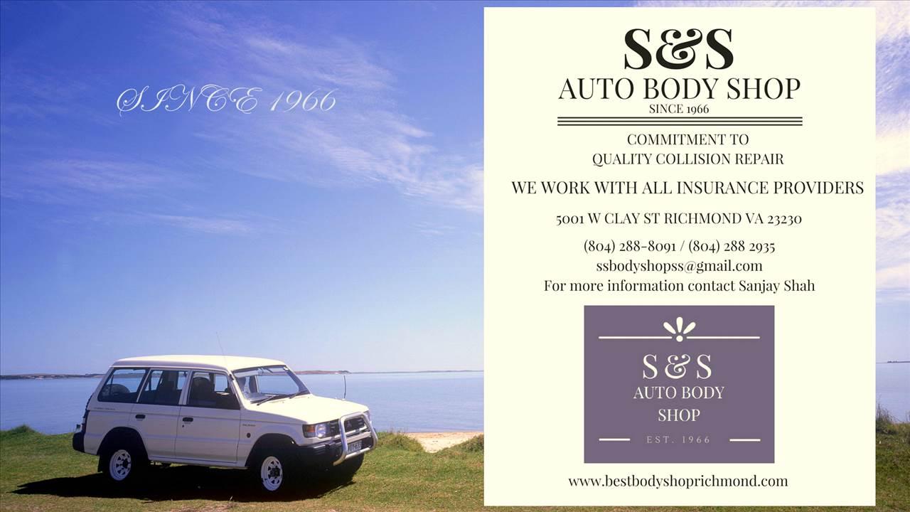 S S Body Shop Inc In Richmond Va 23230 Auto Body