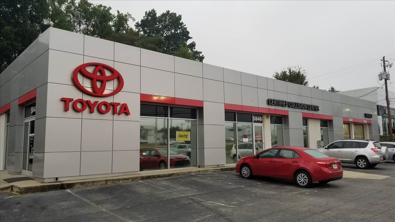 About World Toyota Collision Center See Photos 5800 Peachtree