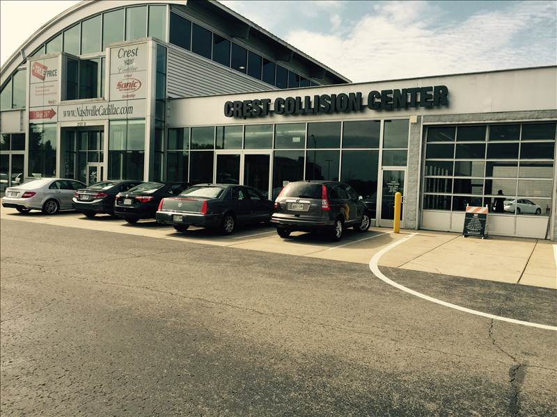 Crest Cadillac Nashville >> Crest Cadillac Collision Center In Nashville Tn 37228 Auto Body