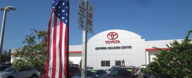 About Daytona Toyota Collision Center