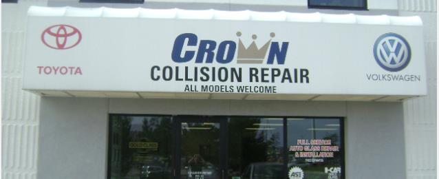 Crown Toyota Lawrence >> Crown Toyota Volkswagen In Lawrence Ks 66046 Auto Body