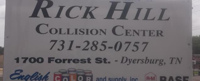 Rick Hill Nissan >> Rick Hill Nissan Collision Center In Dyersburg Tn 38024
