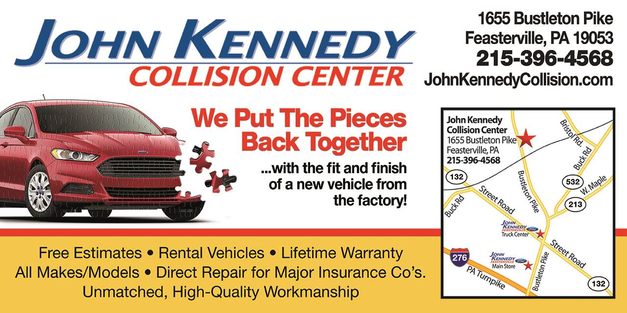 About John Kennedy Collision Center Feasterville