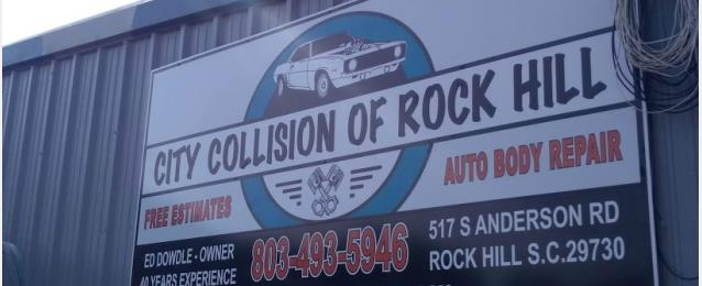 City Collision Of Rock Hill In Rock Hill Sc 29730 Auto Body