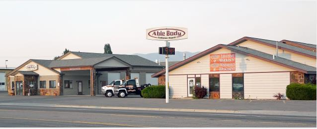 Able Body Shop Inc  in Kalispell, MT, 59901 | Auto Body Shops