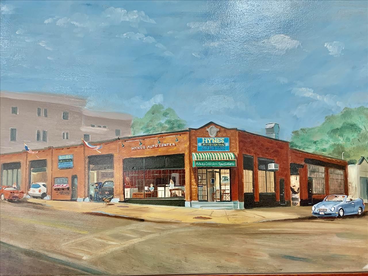 Hynes Auto Center In Roslindale Ma 02131 Auto Body Shops