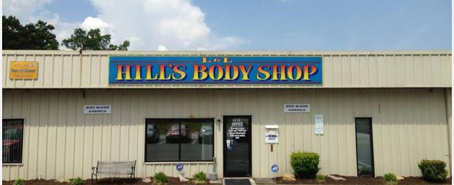 L L Hill S Body Shop Inc In East Flat Rock Nc 28726 Auto