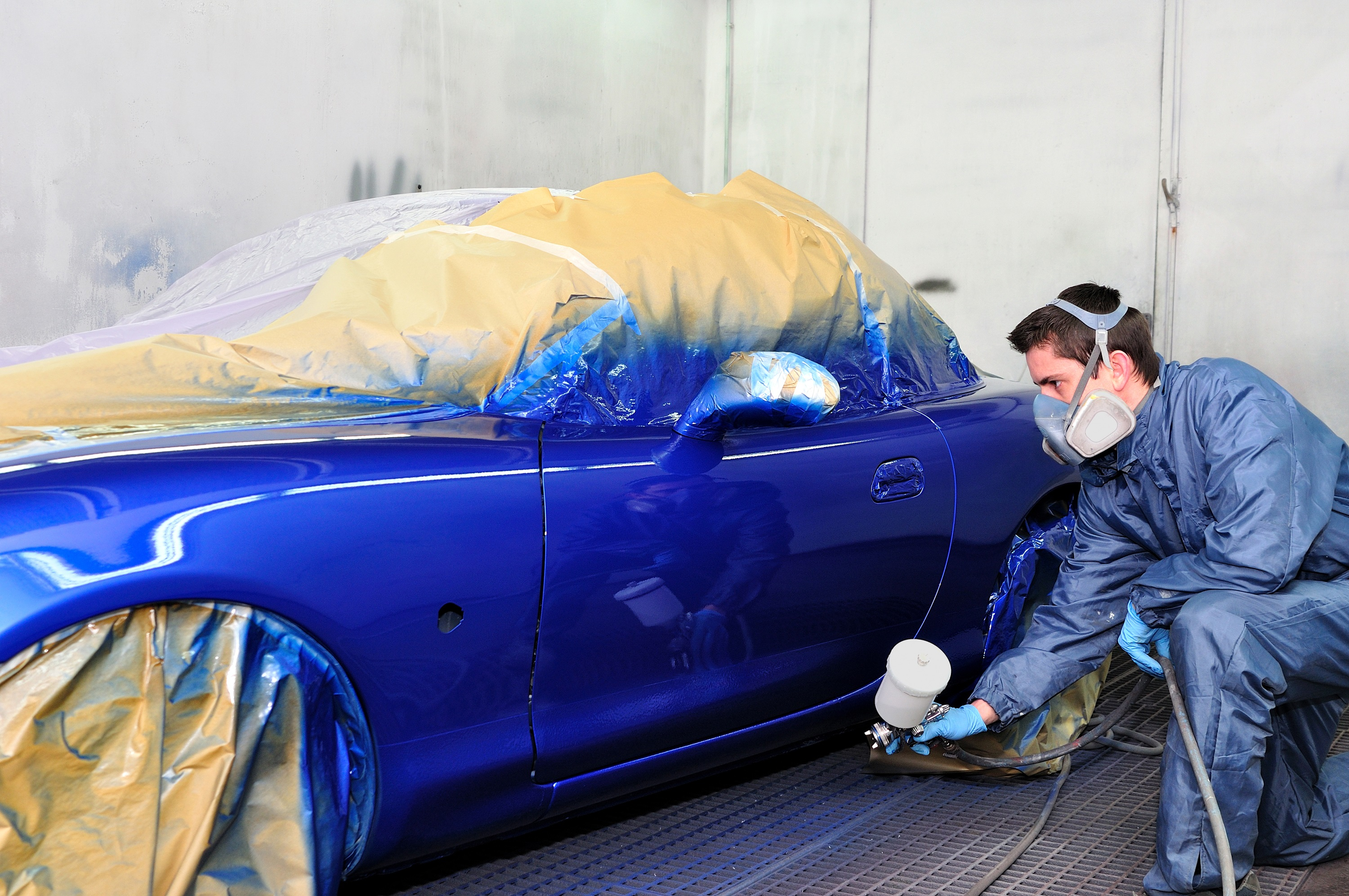 Pearl blue car paint colors - How Much Does A Car Paint Job Cost Auto Body Shop Blog Carwise Com