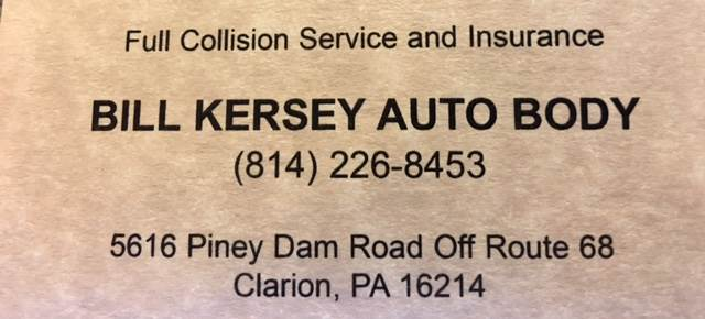 Auto Body Shop Near 16257 Snydersburg Pa Carwisecom