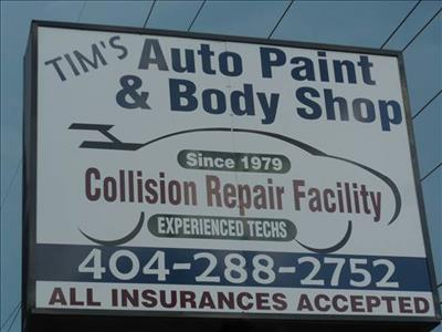 Tim S Paint Body Shop Inc In Decatur Ga 30032 Auto Body