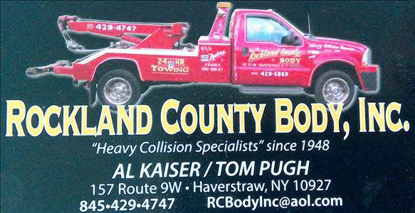 rockland county body inc in haverstraw ny 10927 auto body shops. Black Bedroom Furniture Sets. Home Design Ideas
