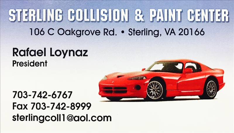 Sterling Collision & Paint Center