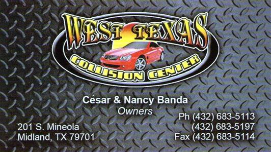 Paint And Body Repair Midland Tx