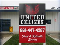 Auto Glass Repair Bakersfield >> United Collision in Bakersfield, CA, 93307 | Auto Body Shops - Carwise.com