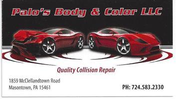 Auto Body Shop near 15401 (Uniontown, PA) - Carwise com