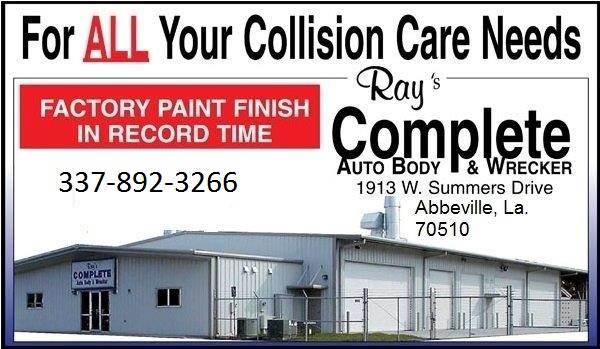 Ray S Complete Auto Body Wrecker In Abbeville La 70510 Auto Body Shops Carwise Com