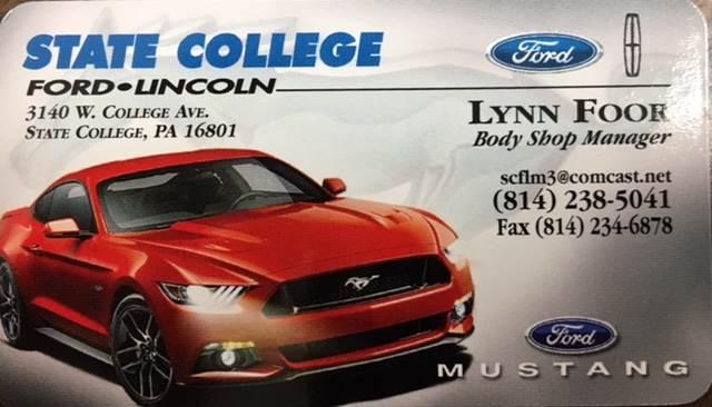 State College Ford L/M Inc.